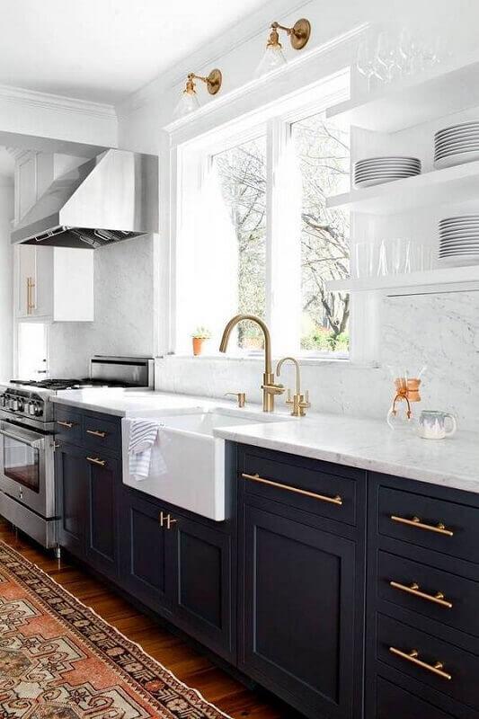 decoração de cozinha sofisticada
