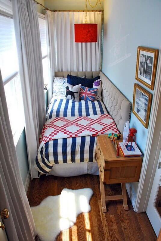 decoração de quarto pequeno