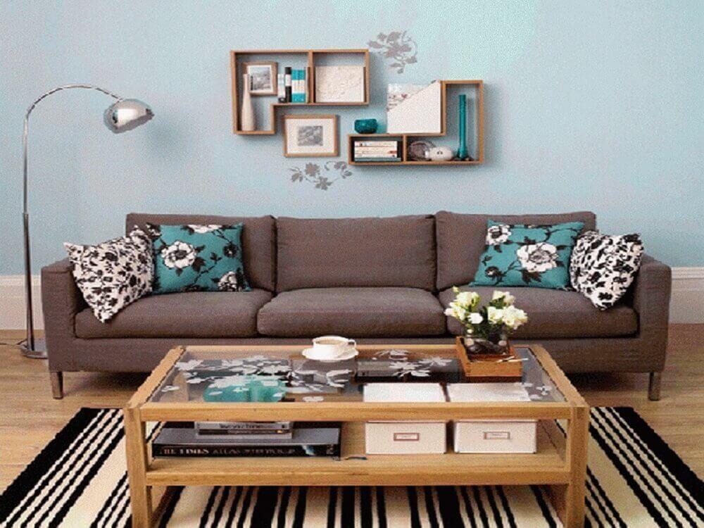 Decoração simples para sala