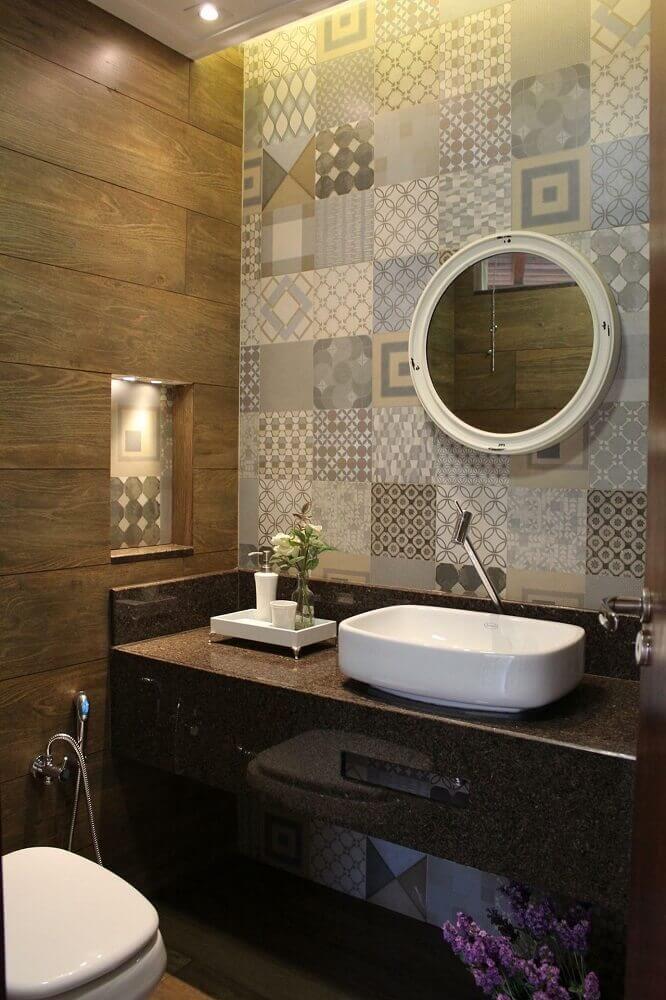 45 modelos de lavabo pequeno e 5 dicas para decorar o seu for Fotos lavabos