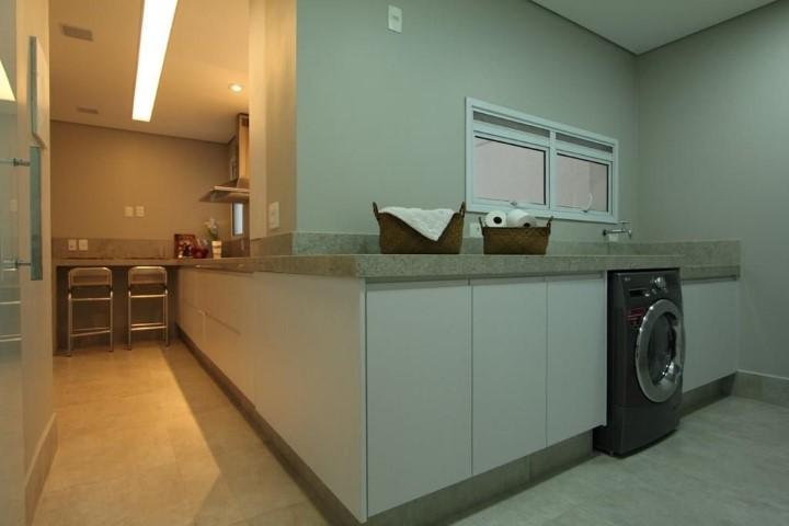 Área de serviço integrada com cozinha Projeto de Archduo