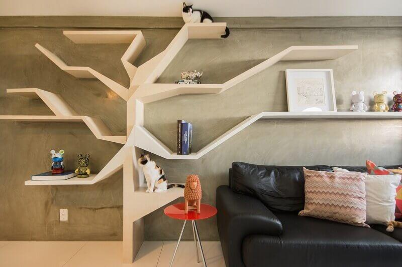 estante diferente para casa decorada