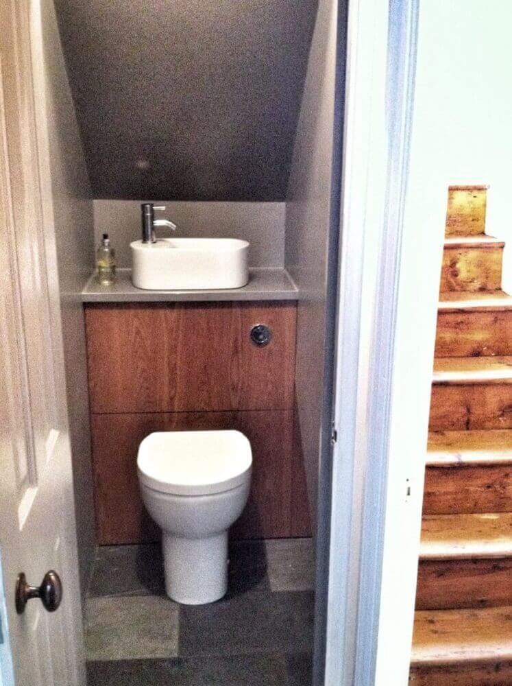 45 modelos de lavabo pequeno e 5 dicas para decorar o seu for Toilet and bath design small space