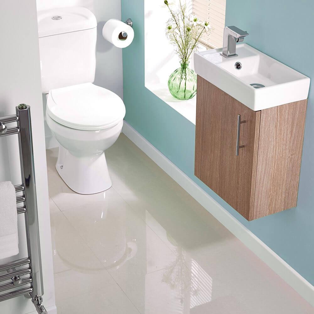 móveis simples para lavabo pequeno