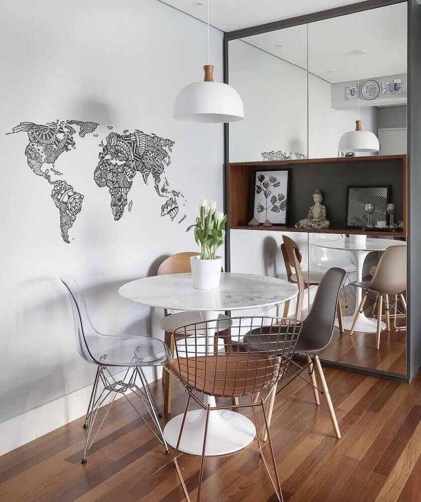 mesa de jantar pequena para sala pequena
