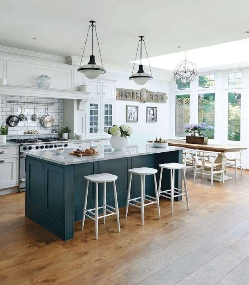 Cozinha Com Ilha Sua Cozinha Mais Funcional E Moderna 36 Modelos