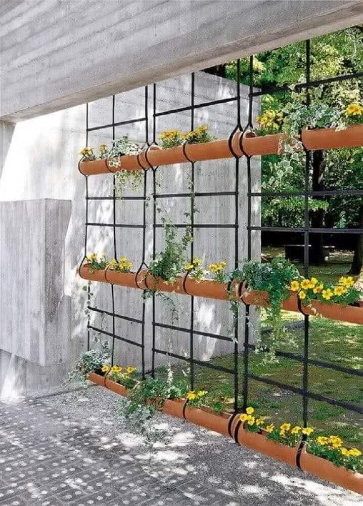 modelo de jardim suspenso