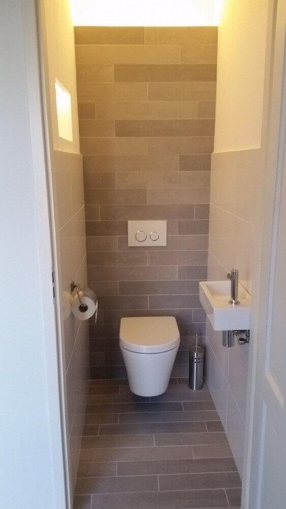 45 modelos de lavabo pequeno e 5 dicas para decorar o seu for Ideas para lavabos pequenos