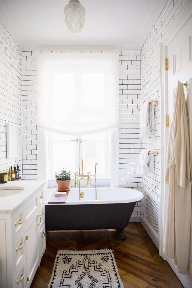 modelos de banheiro com banheira