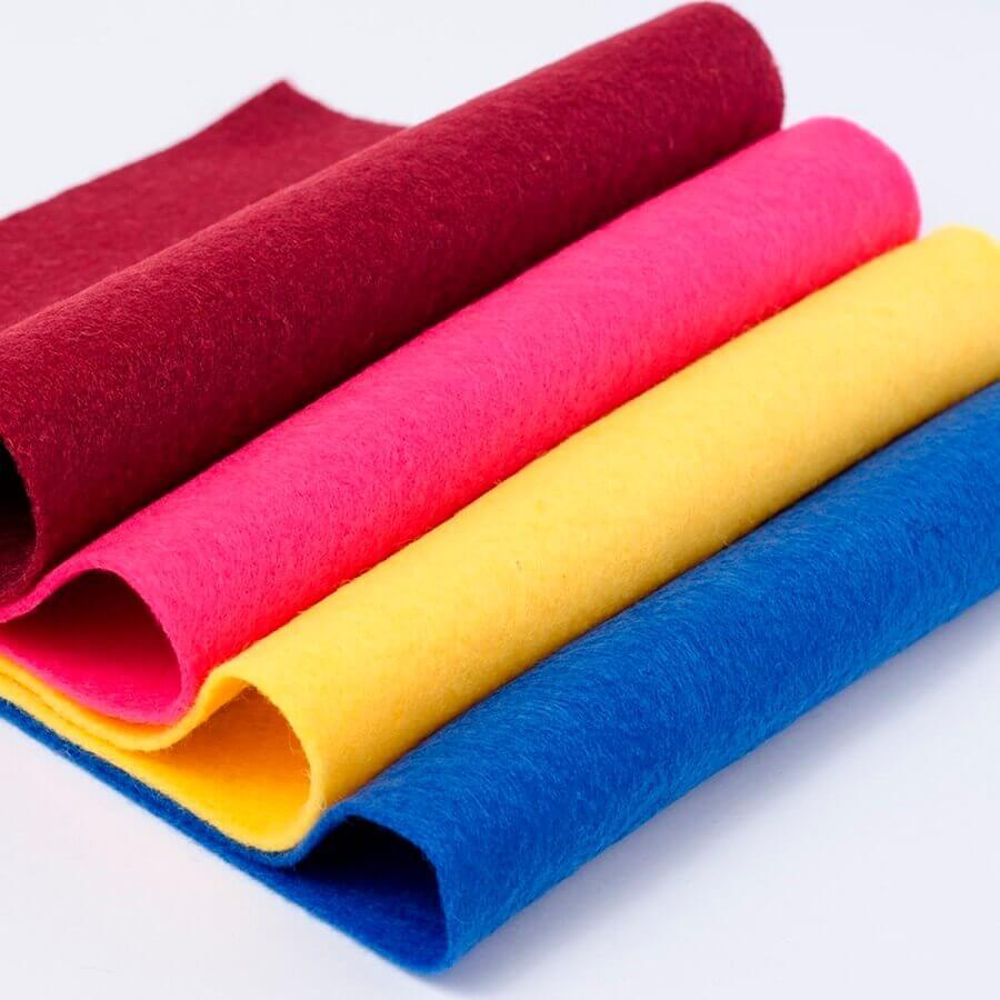 modelos de feltros coloridos