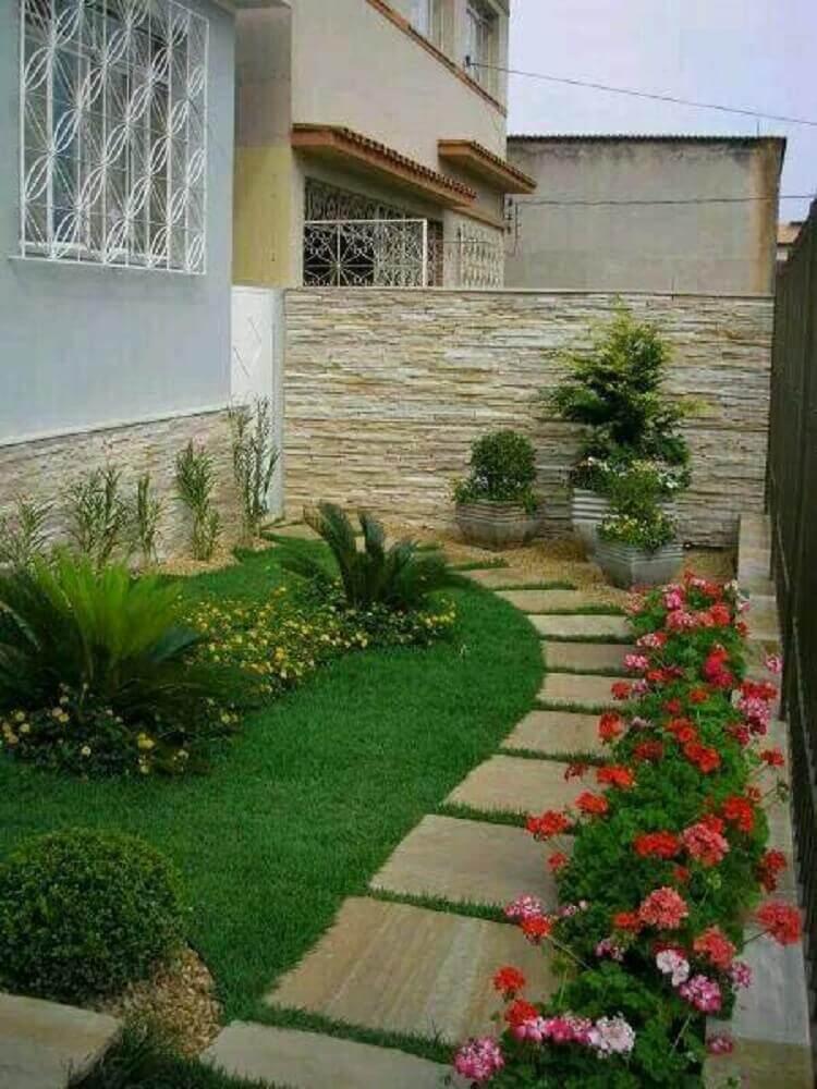 modelos de jardim com caminho