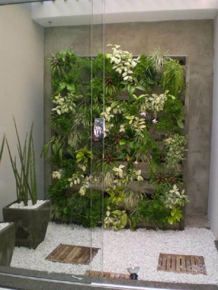 modelos de jardim de inverno com jardim suspenso