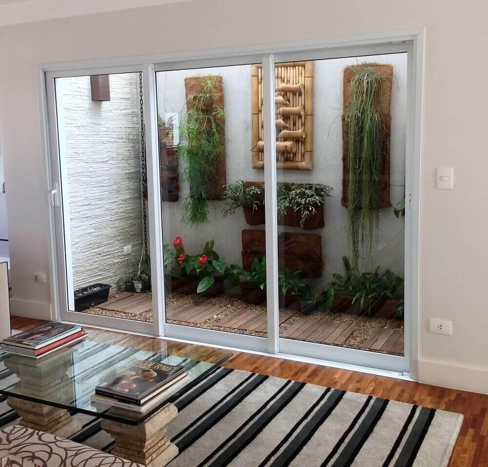 Modelos de jardim de inverno para sala de estar