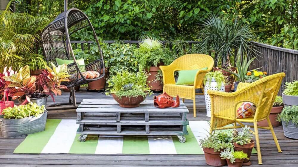 modelos de jardim para receber visita