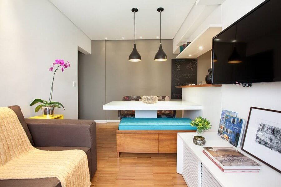 pendentes para apartamento pequeno