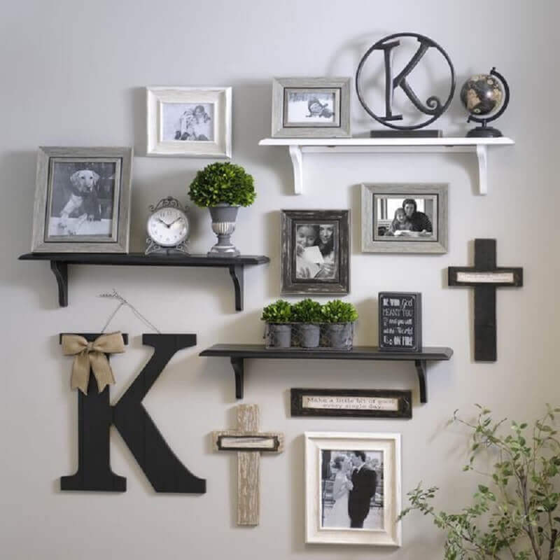prateleiras para decoração de casa