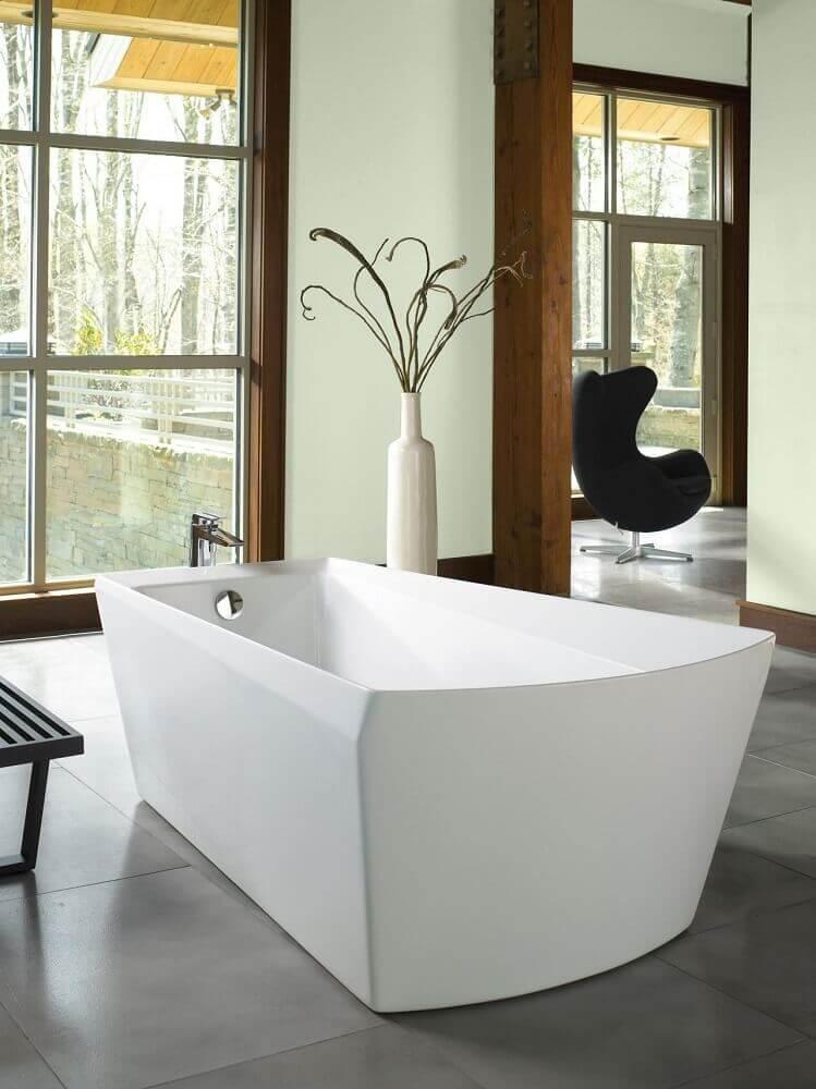 tipos de banheira de apoio