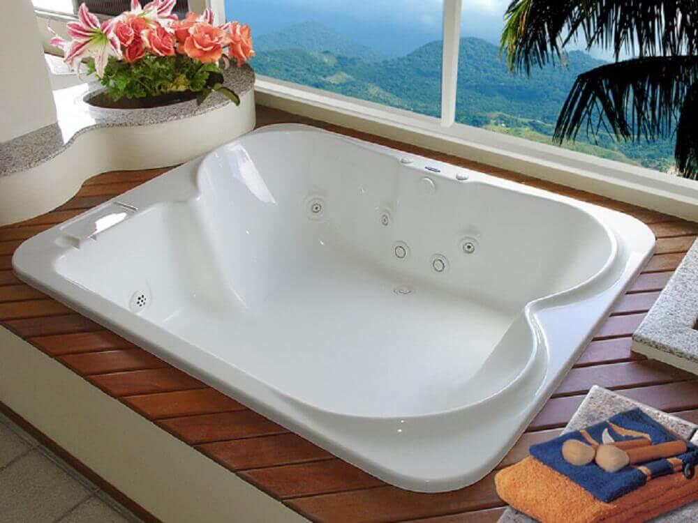 tipos de banheira de hidromassagem