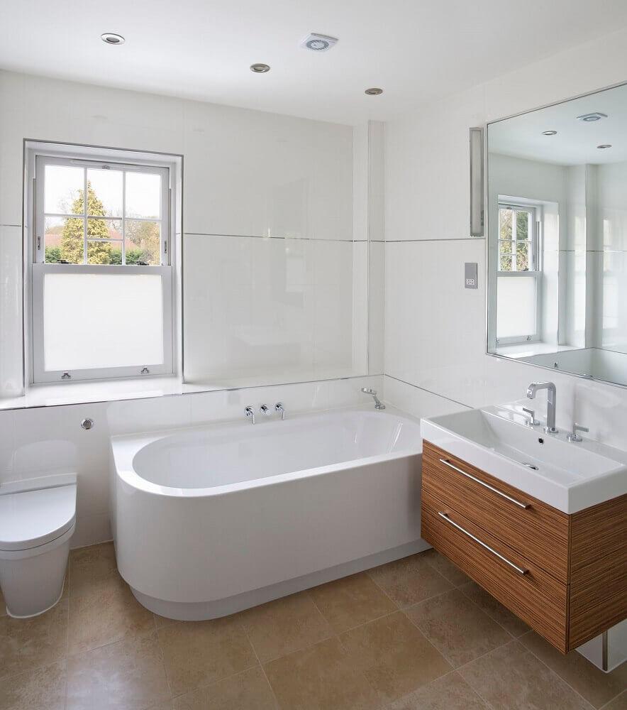tipos de banheira simples
