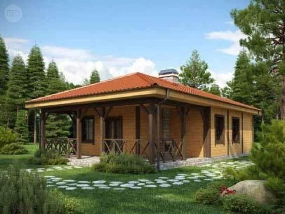 varanda pequena casa de fazenda