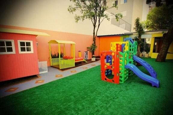 Área de lazer com playground Projeto de Isabela Dalfovo