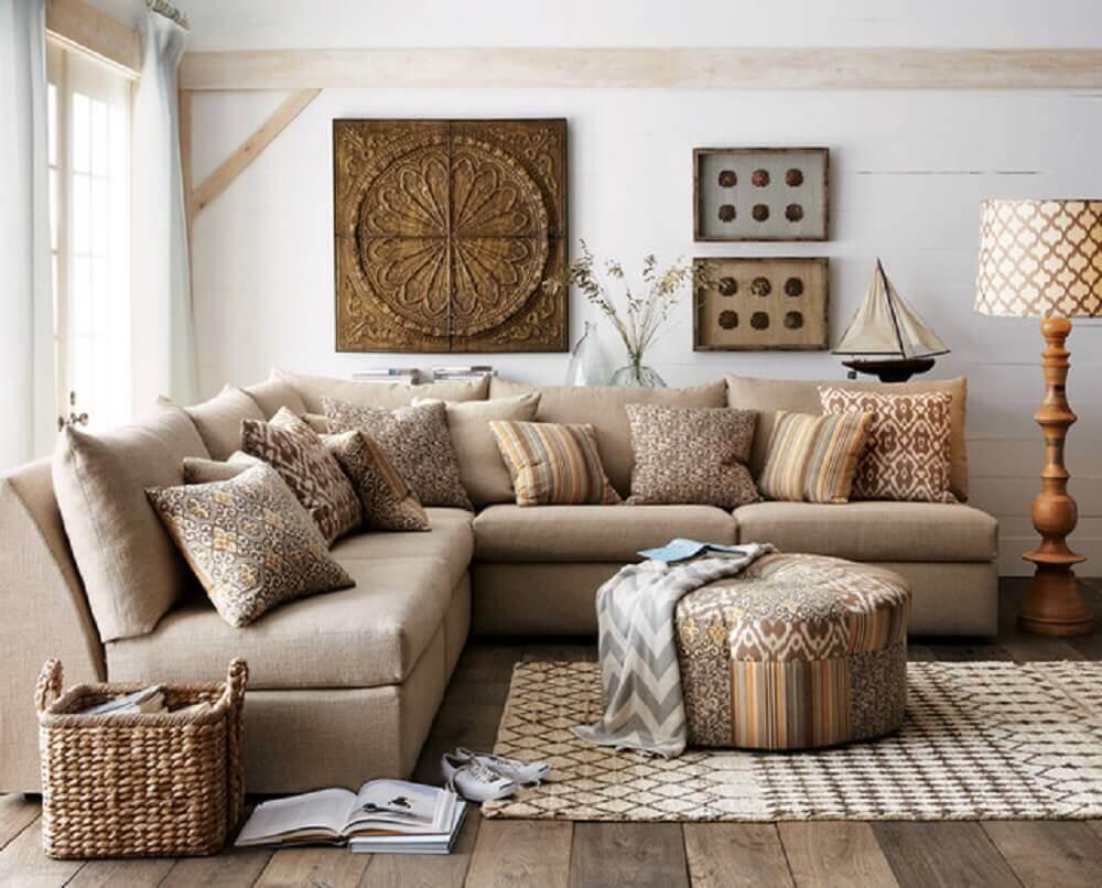 Almofadas grandes para sofá