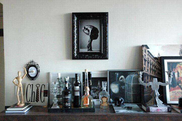 Bar da decoração afetiva Murilo Grilo