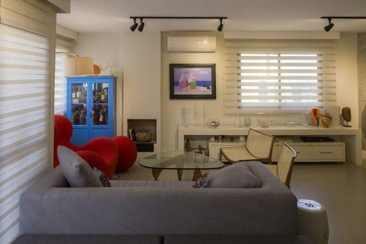 Bar em casa em cristaleira Projeto de Galpão Design