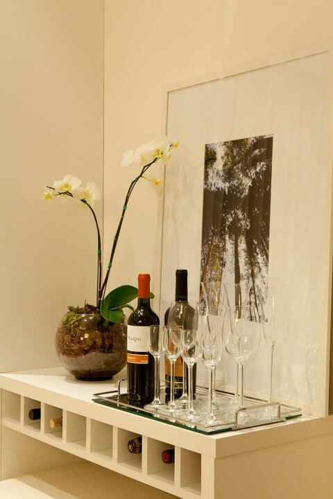 Bar em casa simples Projeto de Gabriela Marques