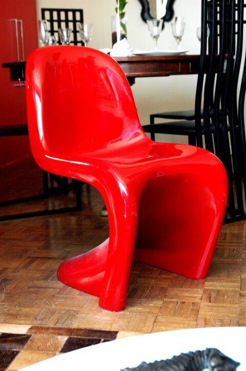 Cadeira da decoração afetiva Murilo Grilo