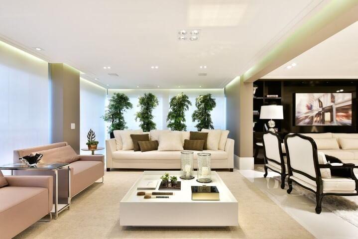 Casa com varanda elegante Projeto de Tetriz Arquitetura
