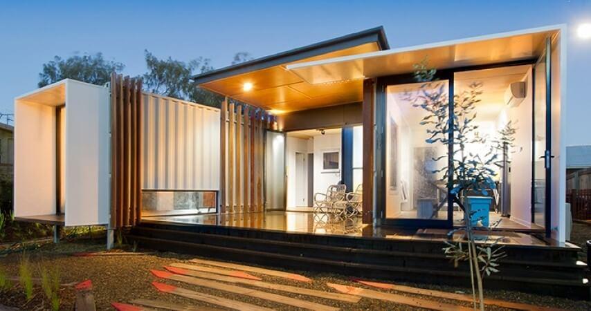 Casa container ampla