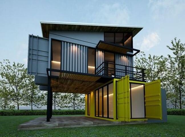Casa container tudo que precisa saber 68 projetos for Casas de container modernas