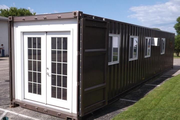 Casa container pré-pronta