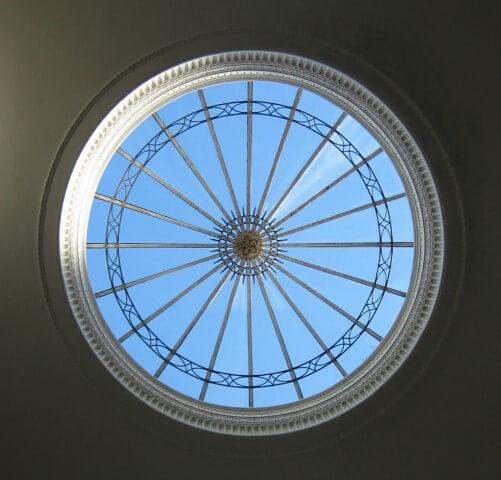 Claraboia de domo
