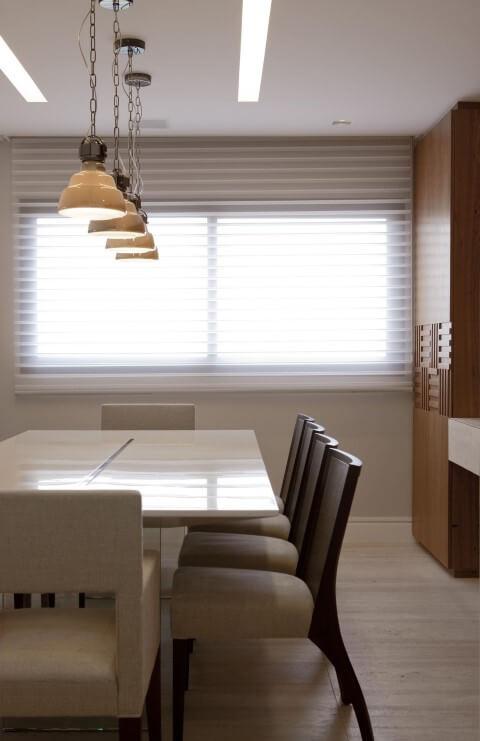 Como instalar persiana horizontal Projeto de Marcelo Rosset
