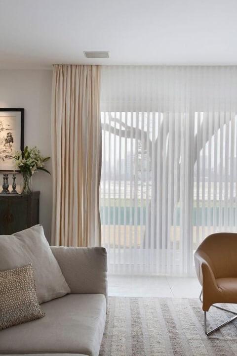 Como instalar persiana vertical Projeto de Arthur Decor