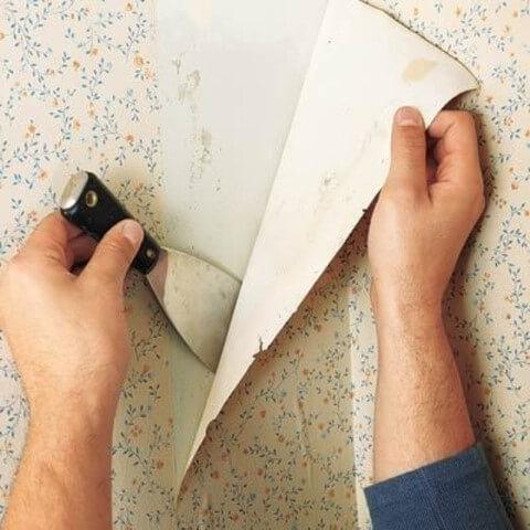 Como tirar papel de parede com vinagre