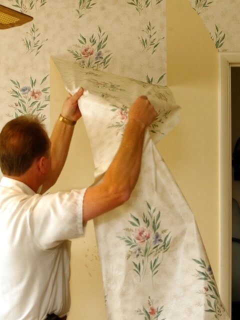 Como tirar papel de parede de forma simples