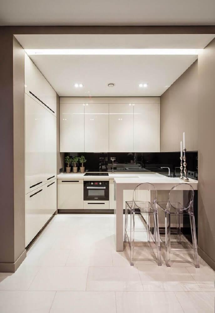 Cozinhas planejadas modernas pequenas