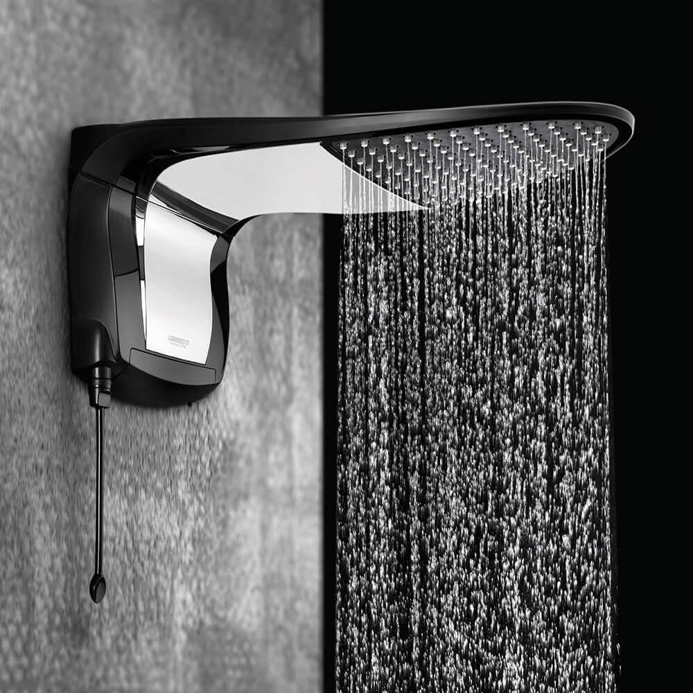 Design da ducha para banheiro