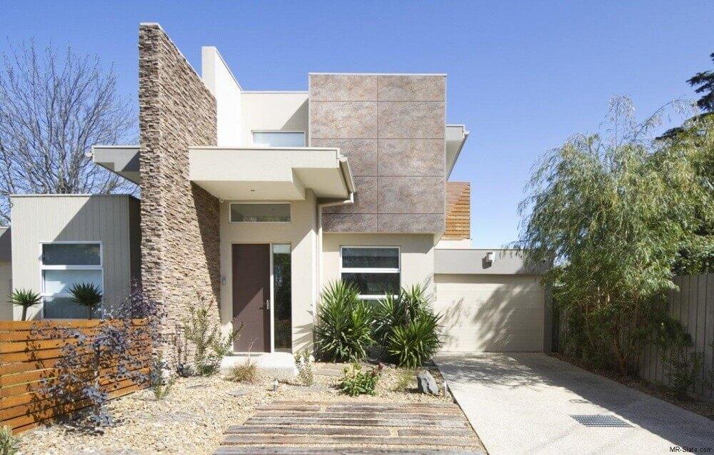 Fotos de muros de pedra para fachada de casas