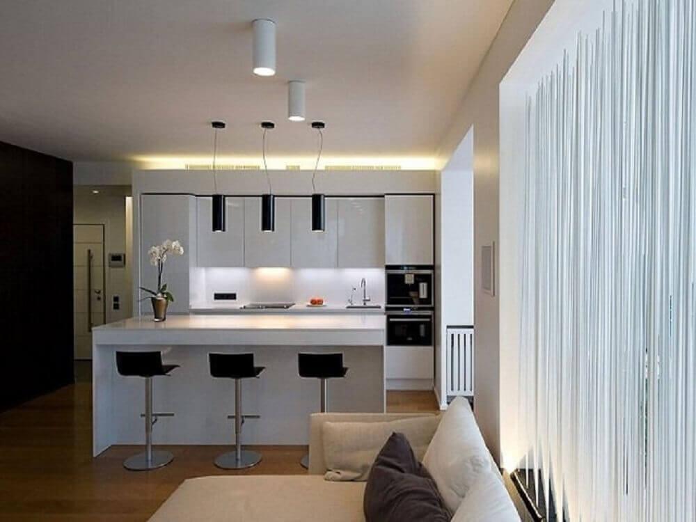 Lumin ria para cozinha 55 modelos para inspirar a for Luminarias para cocina