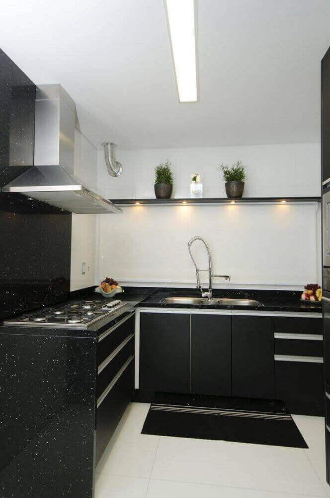 Luminária de led para cozinha embutida