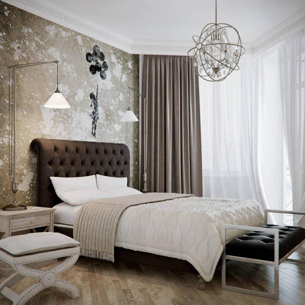 Luminária de teto para quarto de casal e luminária de mesa