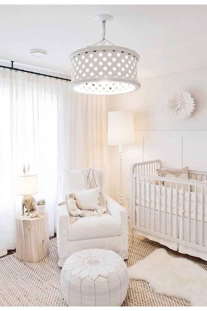 Luminária de teto para quarto para quarto de bebê