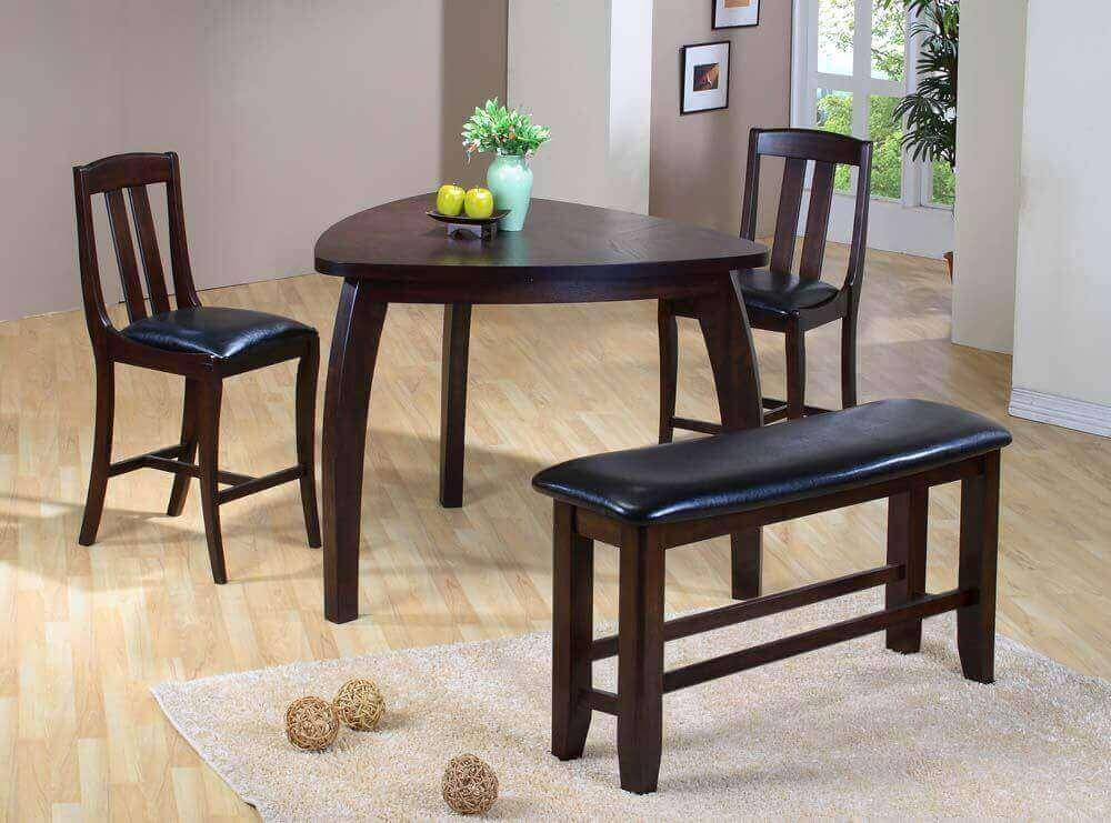 Modelos de mesa de jantar com design diferente