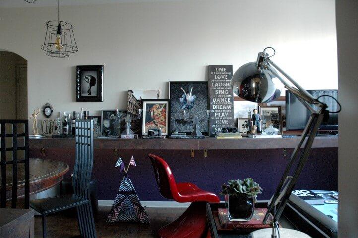 Sala da decoração afetiva Murilo Grilo