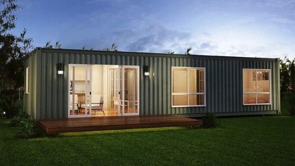 casa container simples