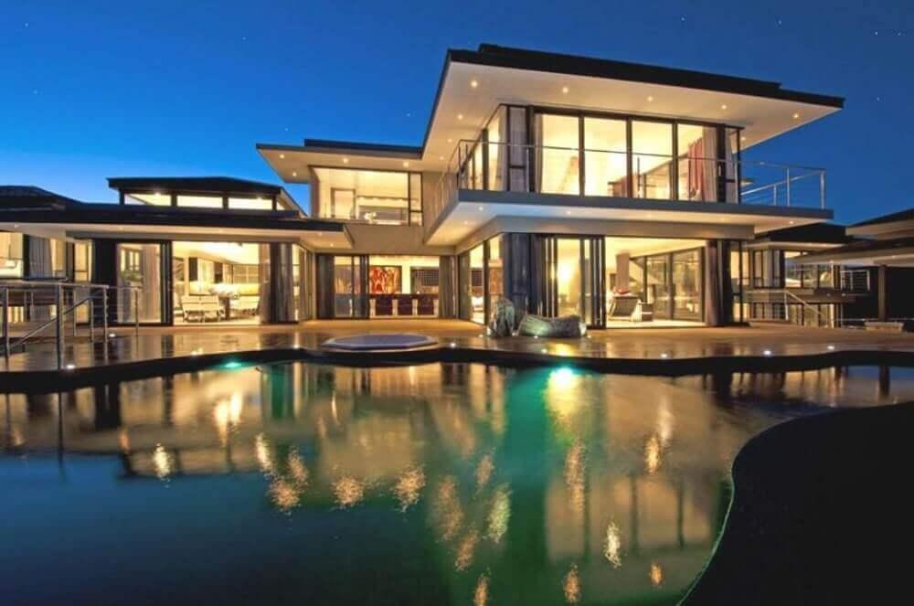 casas chiques com arquitetura moderna